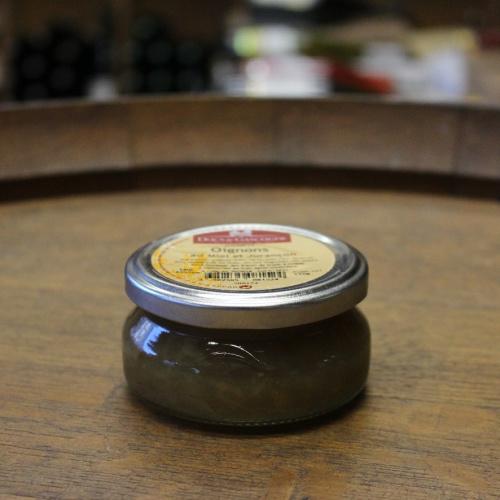 Confit d'Oignons au Miel et Jurançon 110 g.