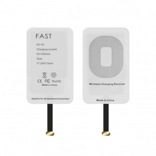 Patch de recharge à induction Fast Charge pour Androïd Micro USB