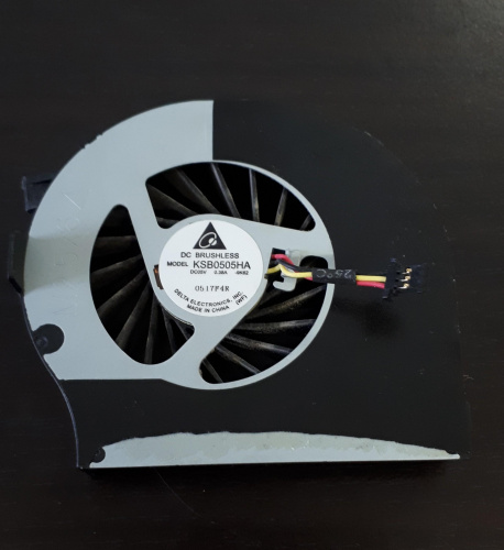 Ventilateur Brushless-3pins