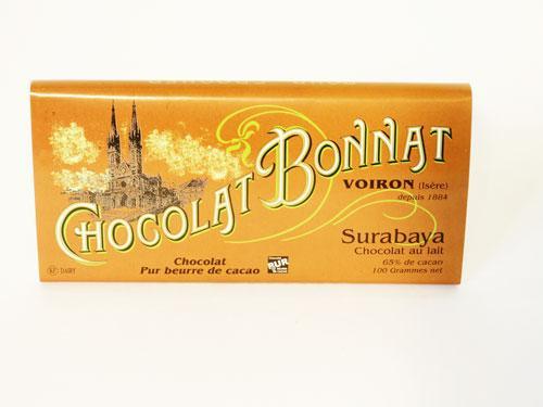 Tablette chocolat au lait Surabaya (Indonésie) 100g