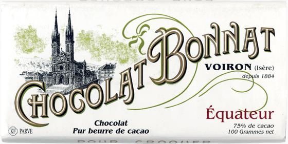 Tablette chocolat noir Equateur 100g