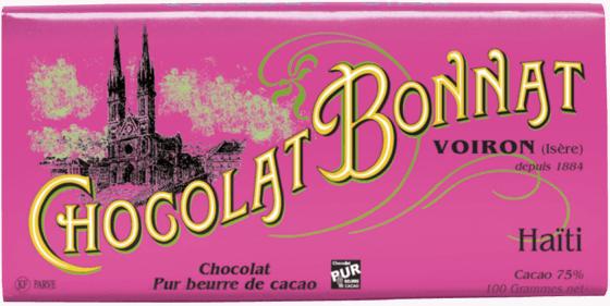 Tablette chocolat noir Haïti 100g