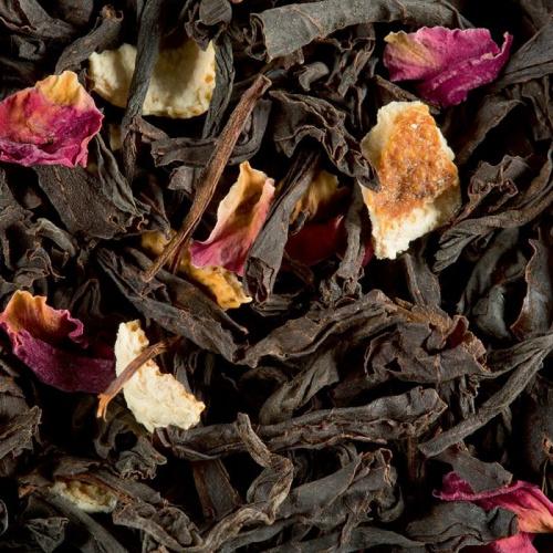 Citron caviar - rose, thé noir