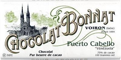 Tablette chocolat noir Puerto Cabello (Venezuela) 100g