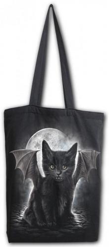 BAT CAT - Sac 4 Life - Sac fourre-tout en toile 80z à poignée longue