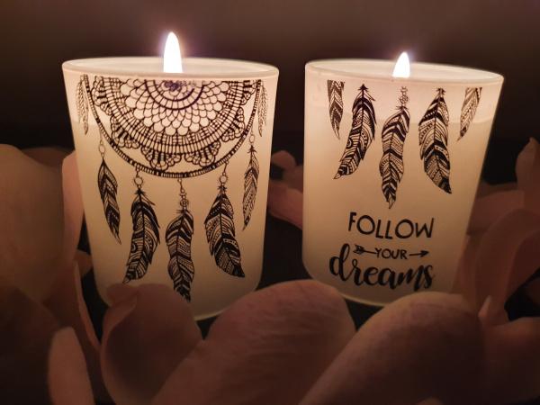 Bougies Attrape-rêves