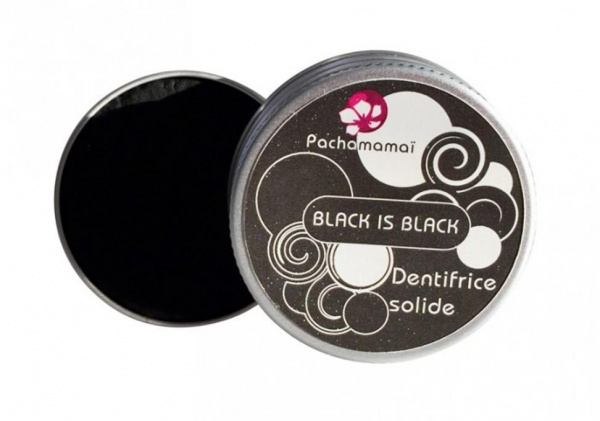 Dentifrice Solide Black is Black - PACHAMAMAÏ