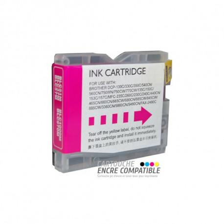 Compatible Brother Lc970-1000 Magenta - Brother