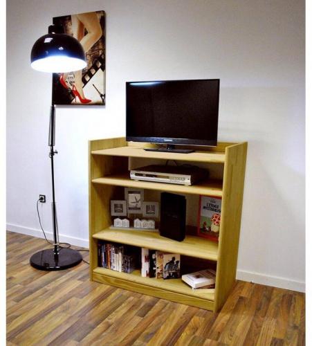 Meuble tv omega miel - abc meubles