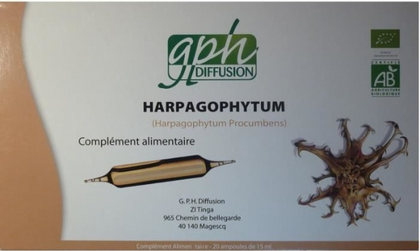 harpagophytum 20 ampoules