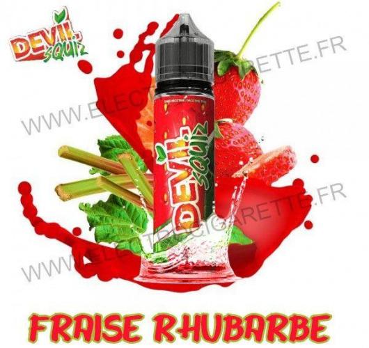 Fraise Rhubarbe - Devil Squiz - Avap - ZHC 50 ml
