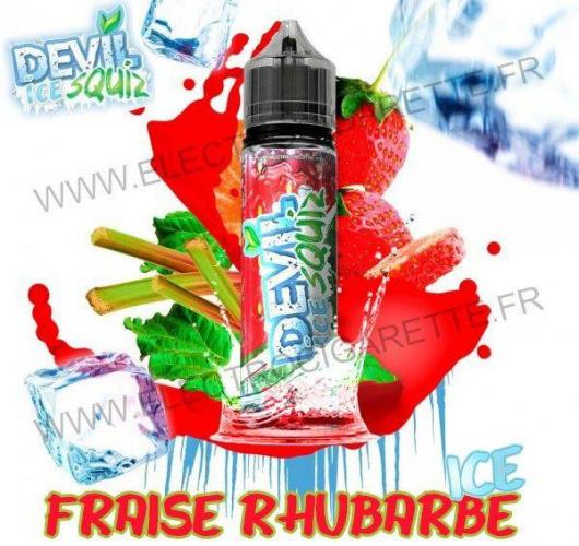 Fraise Rhubarbe Ice - Devil Squiz Ice - Avap - ZHC 50 ml
