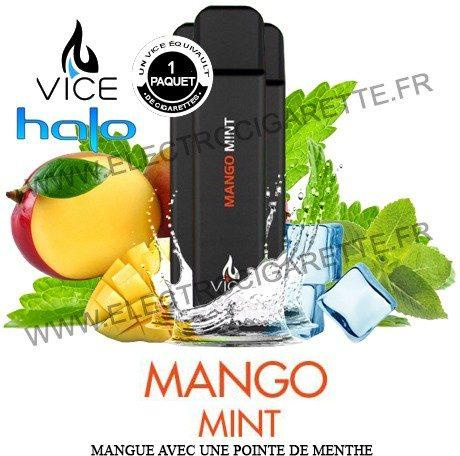 Halo Mango Mint - 3 x Cigarette jetable Vice