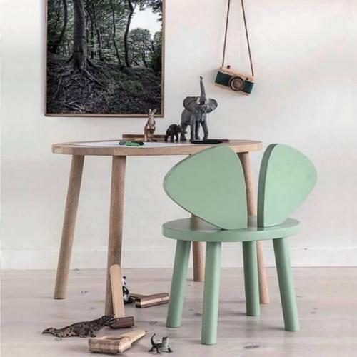 Chaise enfant Mouse - vert