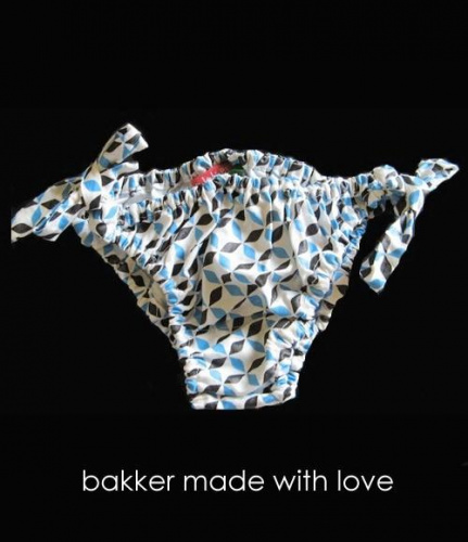 bakker made with love maillot de bain bikini tegel