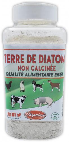 Terre de Diatomée 400gr Non calcinée/Alimentaire E551-100% Naturelle- Garantie sans additifs