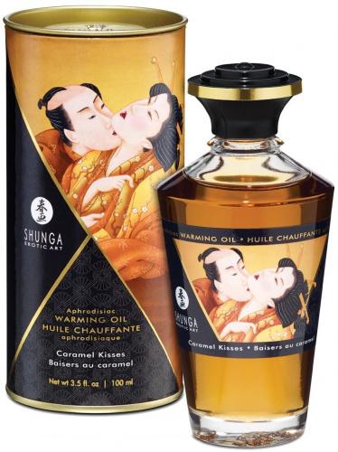 Huile Chauffante Baisers au Caramel - 100 ml