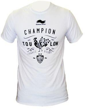 Tshirt Rugby  Champion de france Junior / RC Toulon