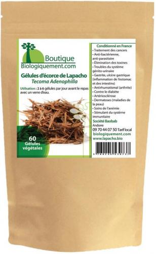 Gélules d'écorce de Lapacho