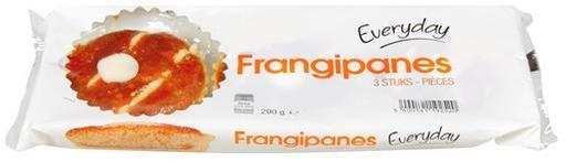 Everyday 3 frangipanes 200 gr