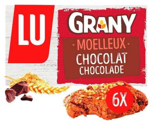 LU Grany Moelleux au chocolat 192 gr