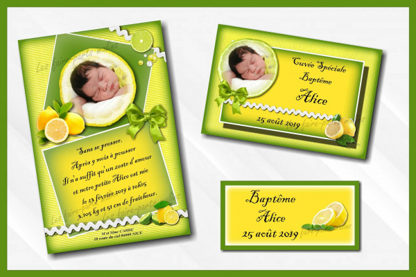 Collection Citron