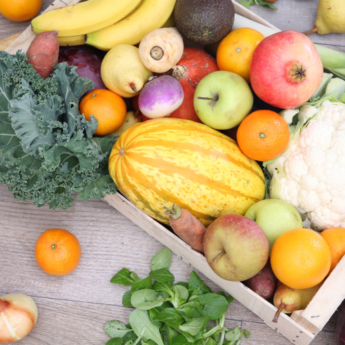Petit mélange de légumes & fruits (+ 125 g de fruits secs bio)