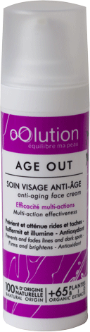 Soin anti-âge Age out