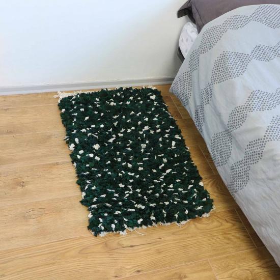 Tapis en tissus recyclés - Abri (80×50)