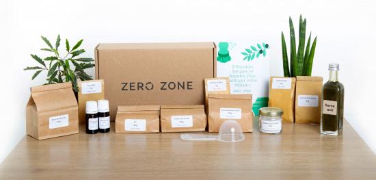 Kit de produits ménagers écologiques DIY