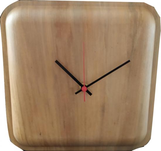 Grande Horloge Carree 25x25cm
