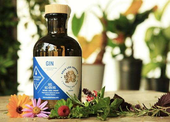 Gin aromatisé