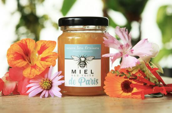 Miel de fleurs des toits de Paris