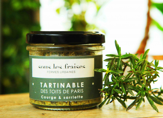 Tartinable - Courge & Sarriette