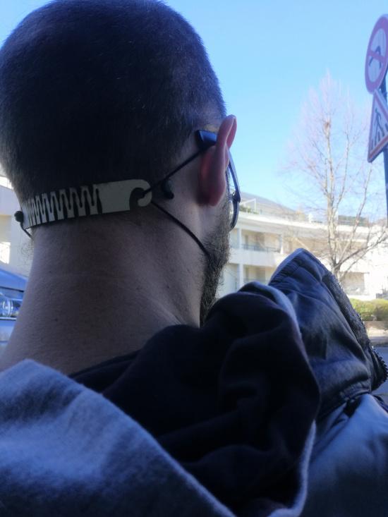2 Lien pour masque - Attache masque - Ears Saver