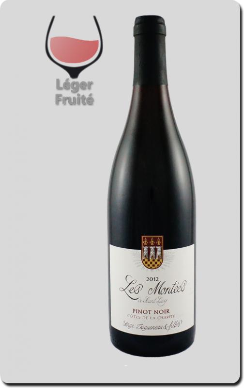 Domaine Serge Dagueneau et Filles - PINOT NOIR – Côtes de la Charité IGP - « Les Montées de Saint Lay » 2015