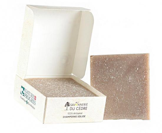 Shampoing solide naturel au Rhassoul sans SCI
