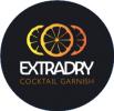 Extradry cocktail garnish